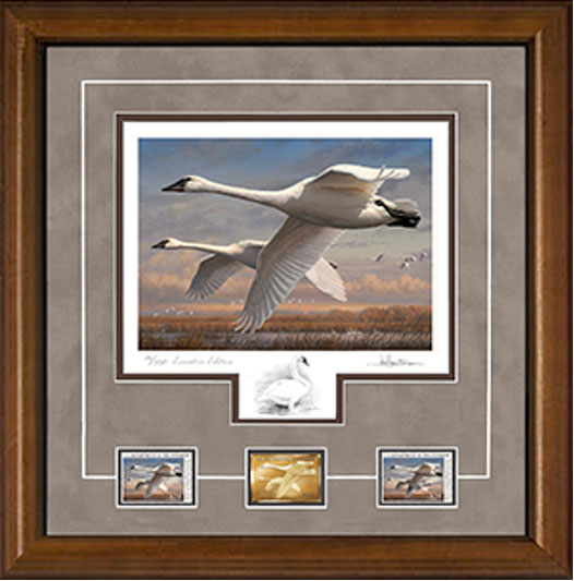 2016 Federal Duck Stamp Print Executive Edition