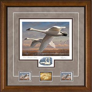 2016 Federal Duck Stamp Print President's Edition