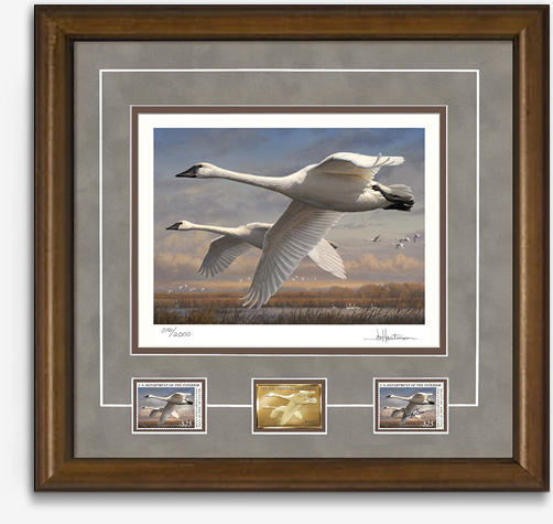 2016 Federal Duck Stamp Print Medallion Edition